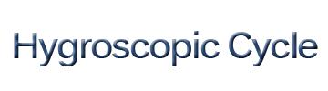 Hygroscopic Cycle Logo
